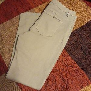 Michael Kors Gray Skinny Crop